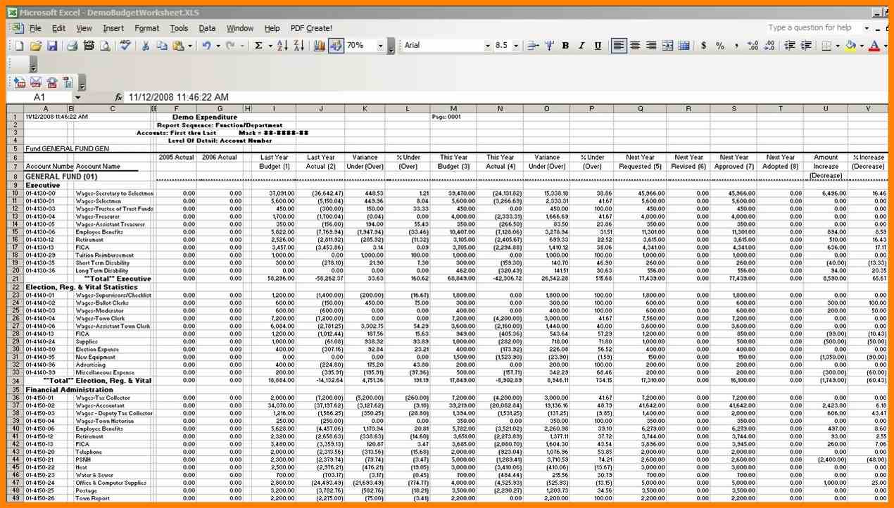 Excel Bookkeeping - Durun.ugrasgrup With Excel Accounting Spreadsheet Free Download