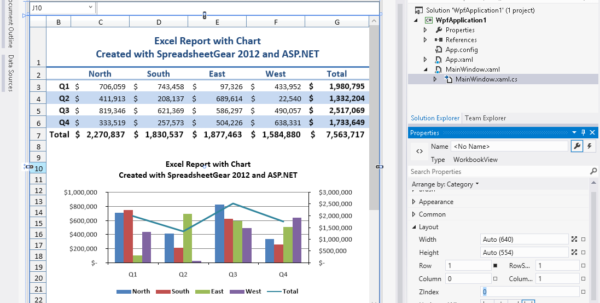 Excel Compatible Windows Forms, Wpf And Silverlight Samples For And Asp.net Spreadsheet
