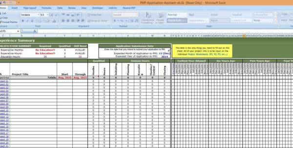 Excel Dashboard Project Management Spreadsheet Template And With Inside Resource Management Spreadsheet
