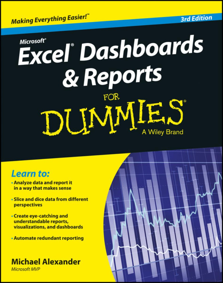 Excel Dashboards And Reports For Dummies Ebookmichael Alexander With Spreadsheets For Dummies