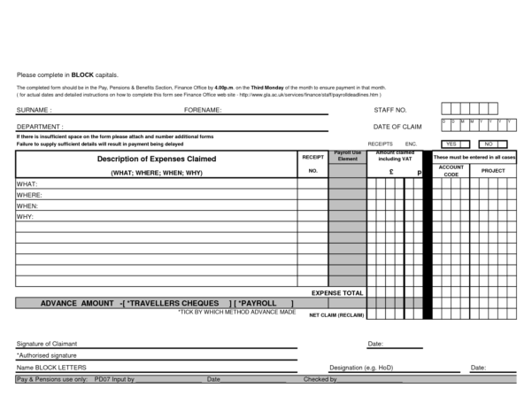 Excel Expenses Template Uk Archives   Southbay Robot With Excel Expenses Template Uk