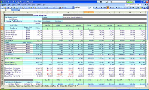 Excel Financial Worksheet Template   Resourcesaver Within Business Budget Spreadsheet Free Download