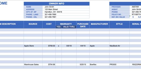 Excel Inventory Spreadsheet Download   Durun.ugrasgrup In Excel Inventory Template Free Download