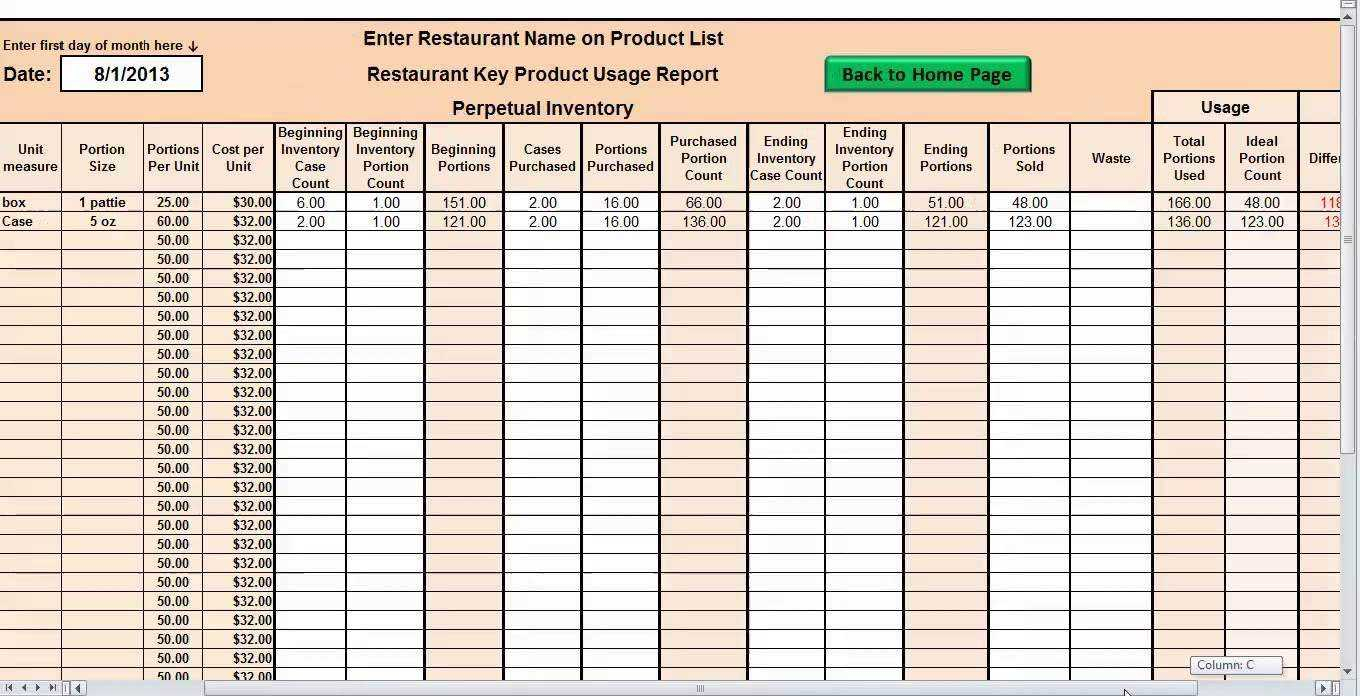 Excel Inventory Spreadsheet Download | Sosfuer Spreadsheet And Excel Inventory Template Free Download