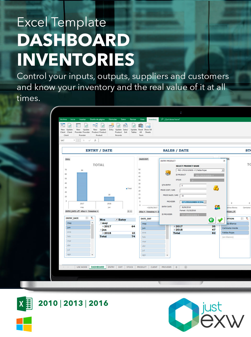 Excel Inventory Template | Free Excel Spreadsheets In Excel Spreadsheet For Inventory Management