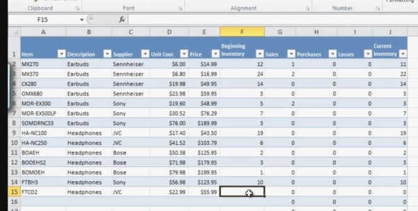 Excel Inventory Tracking Template Dashboard Management Famous To Excel Inventory Control Template