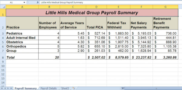 Excel Payroll Template | Spreadsheet Collections In Excel Spreadsheet For Payroll