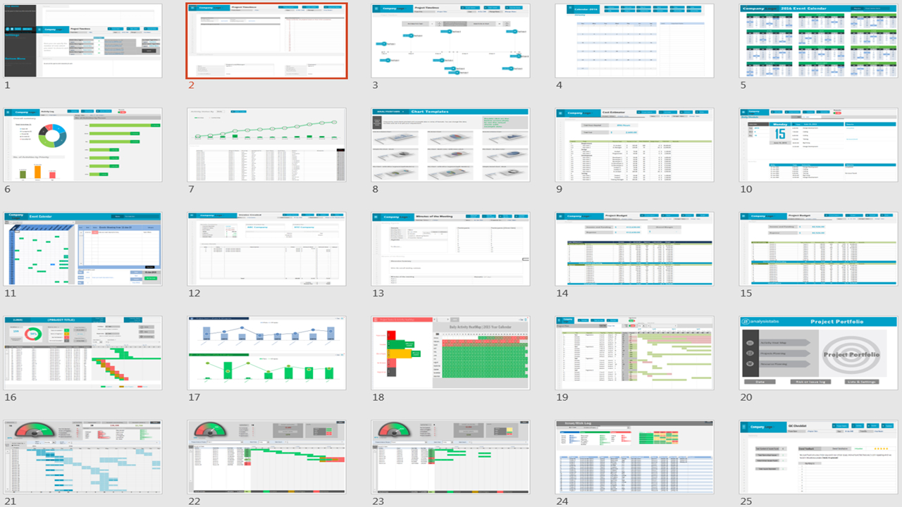 Excel Project Management Templates For Project Management Spreadsheets