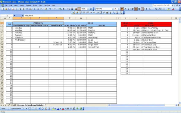 Excel Spreadsheet Classes   Daykem And Courses On Excel Spreadsheets