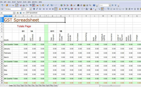 Excel Spreadsheet For Accounting Of Small Business | Sosfuer Spreadsheet Throughout Free Excel Accounting Templates For Small Businesses