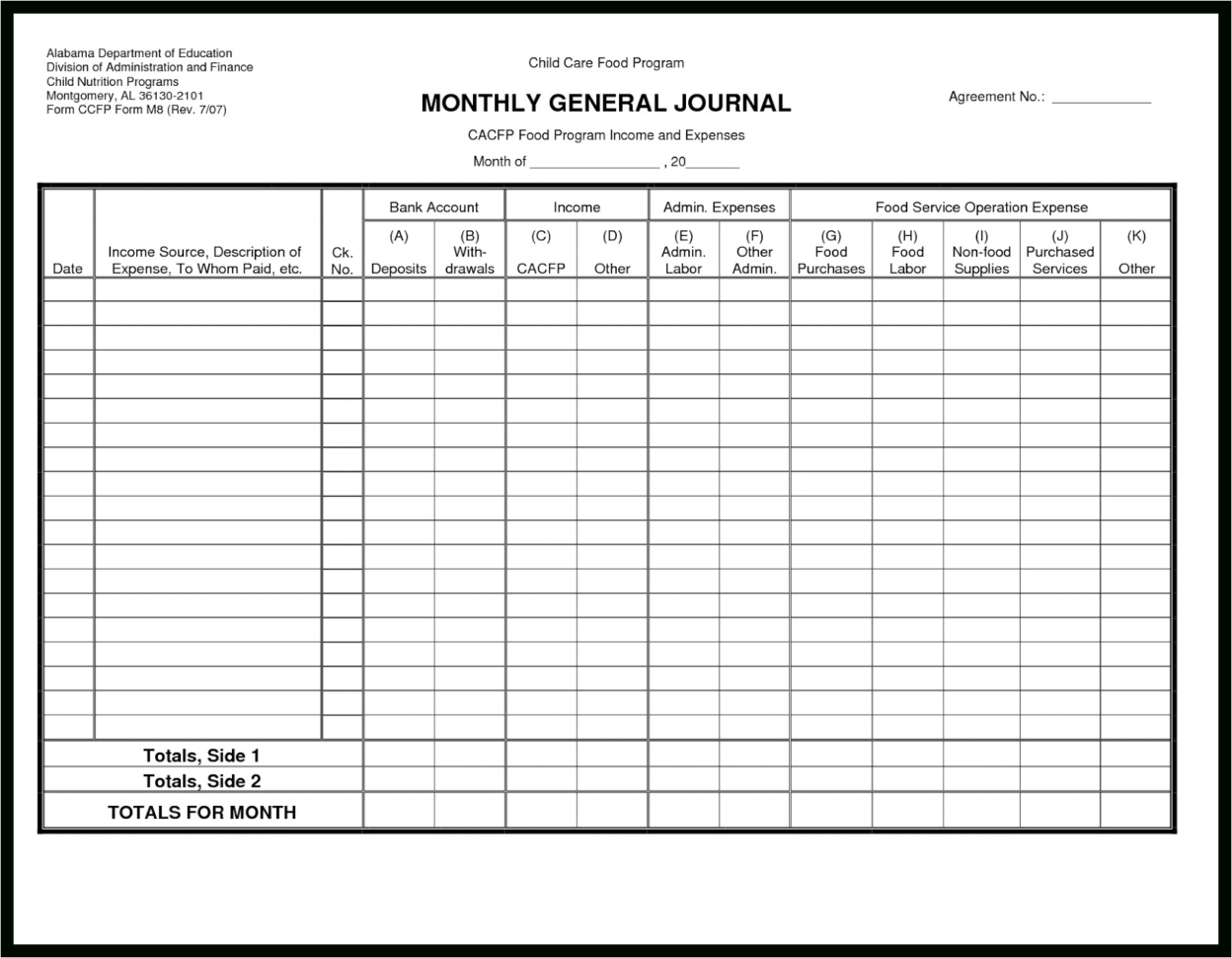 Excel Spreadsheet For Accounting Of Small Business With Download To Small Business General Ledger Template