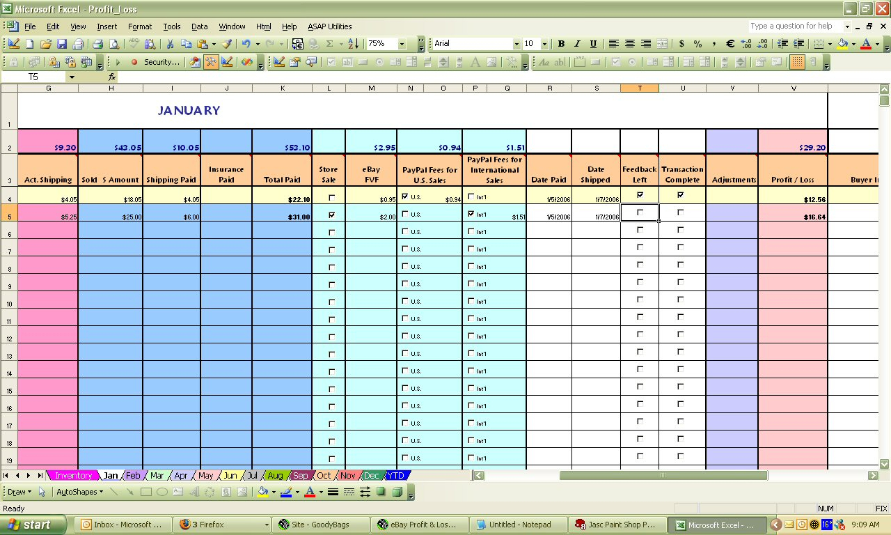 Excel Spreadsheet For Ebay Sales On Spreadsheet Templates Create And Ebay And Amazon Sales Tracking Spreadsheet