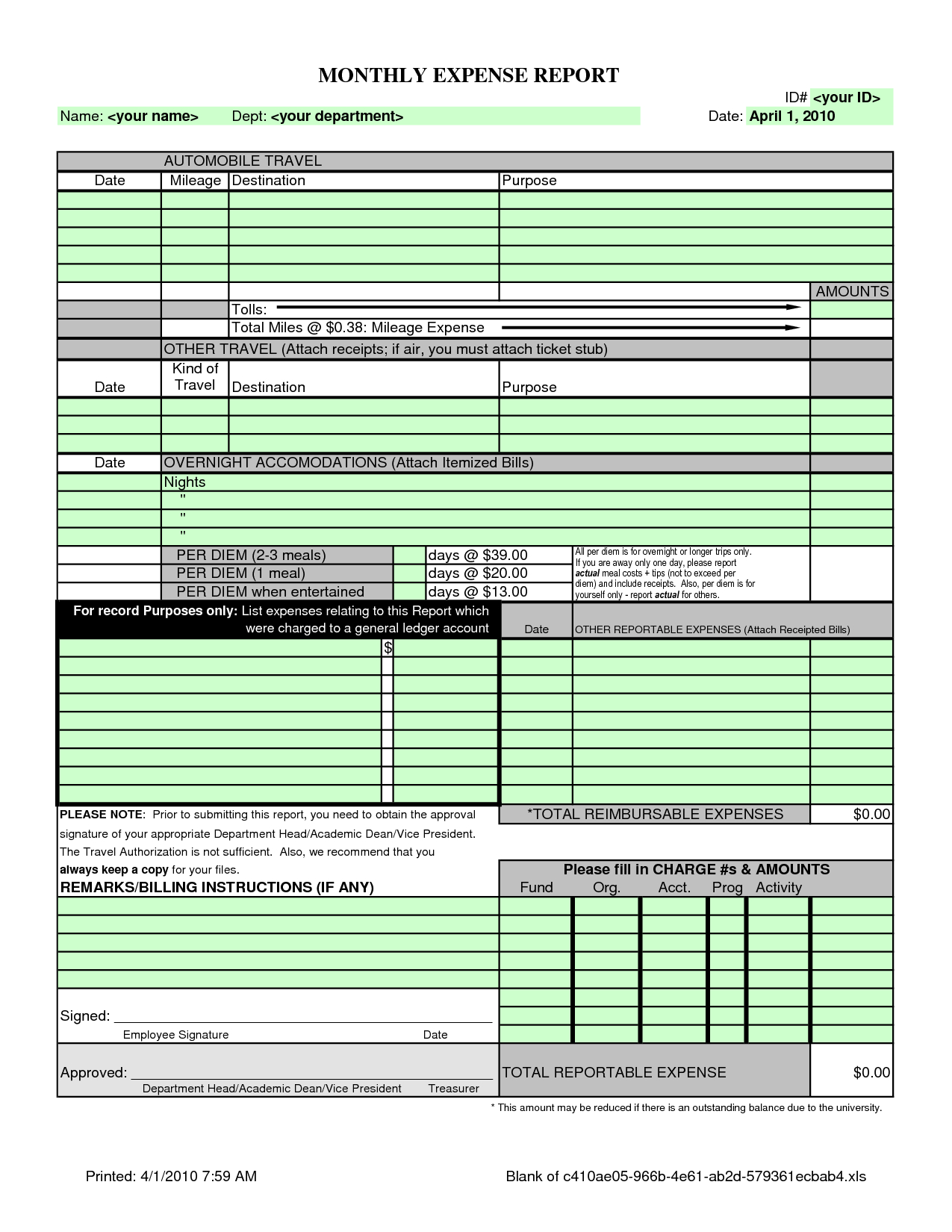 Excel Spreadsheet For Monthly Business Expenses Download Free In Excel Spreadsheet For Business Expenses