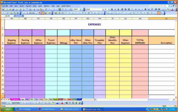 Excel Spreadsheet For Monthly Expenses Download | Papillon Northwan Within Excel Spreadsheet Download