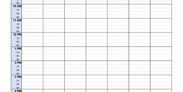Excel Spreadsheet For Scheduling Employee Shifts For 10 Blank And Excel Spreadsheet For Scheduling Employee Shifts