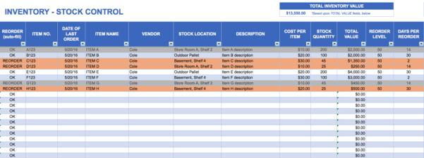 Excel Spreadsheet Inventory Management   Durun.ugrasgrup With Excel Inventory Management Template