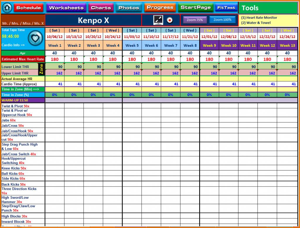 Excel Spreadsheet Training Calendar Templates For Tracking Courses In Courses On Excel Spreadsheets