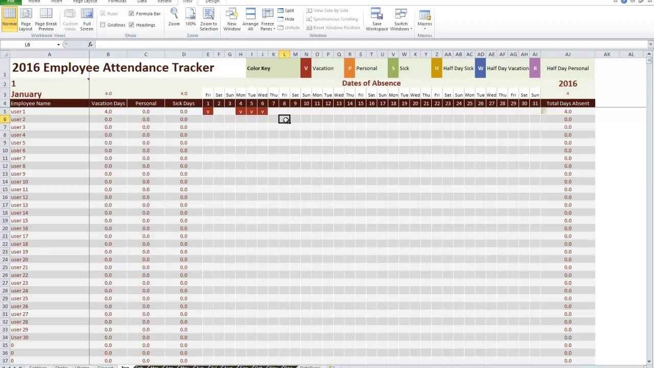 Excel Time Off Tracking Spreadsheet Time Off Tracking Spreadsheet Within Time Off Tracking Spreadsheet