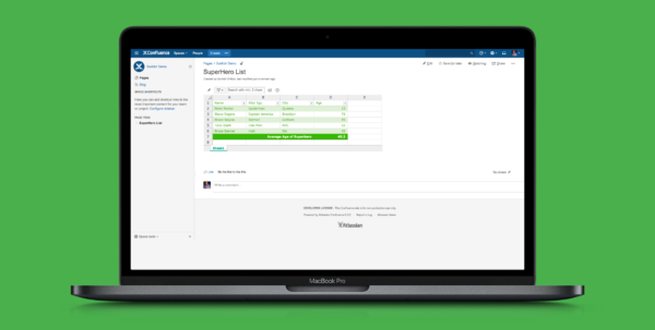 Excellentable Spreadsheet For Confluence | Atlassian Marketplace Throughout Spreadsheets App