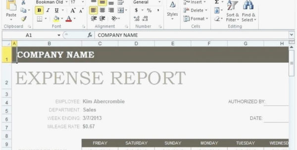 Expense Form Excel Template Travel Claim Weekly Expenses Report For In Expense Report Form Excel