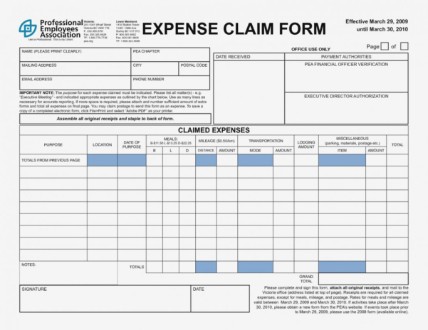 Expense Forms Templates Form Template Powerful Depiction Addition And Simple Expense Form