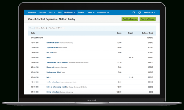 Expenses Software To Track All Your Costs, Even On The Go   Freeagent In Free Business Expense Software