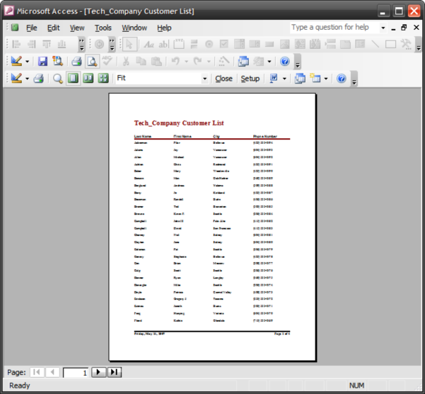 Export An Access 2003 Report Into Excel Spreadsheet Intended For Convert Excel Spreadsheet To Access Database 2010