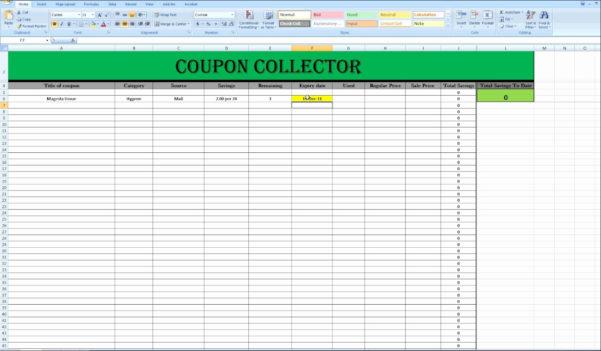 Extreme Couponing Spreadsheet On Spreadsheet App For Android For Coupon Spreadsheet App