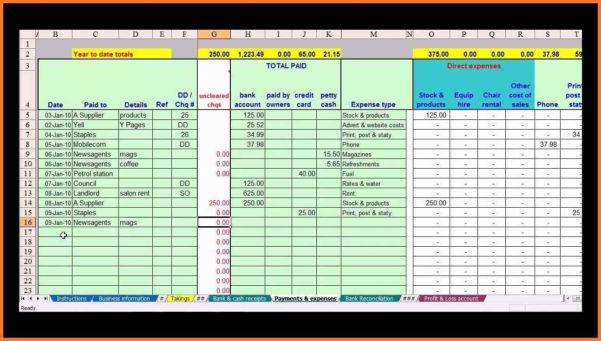 Farm Bookkeeping Spreadsheet | Sow Template In Bookkeeping Within Excel Spreadsheet For Farm Accounting