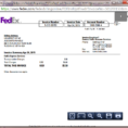 Fedex Invoice Management | Financial Services Office | The Throughout Fedex Invoice