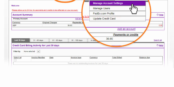 Fedex Invoice Payment Fedex Billing Online Fedex Denmark Within Fedex Invoice