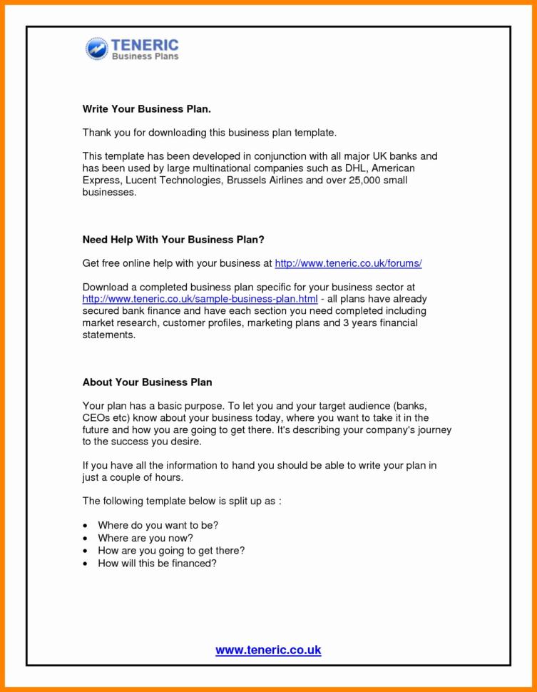 Financial Advisor Business Plan Template Free Recent Financial Plan With Financial Plan Template Free