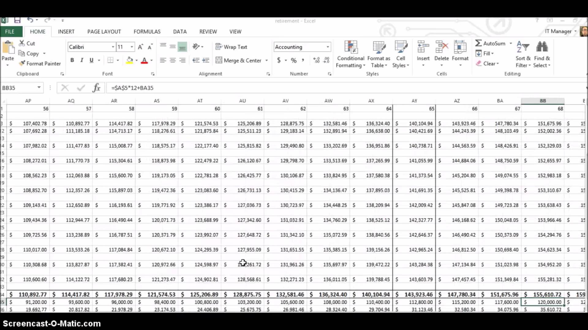 Financial Planning Excel Spreadsheet | Papillon Northwan With Spreadsheet For Retirement Planning