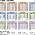 Fiscal Calendars 2018 As Free Printable Excel Templates Intended For Small Business Budget Template Nz Small Business Budget Template Nz Business Spreadshee Business Spreadshee small business budget template nz