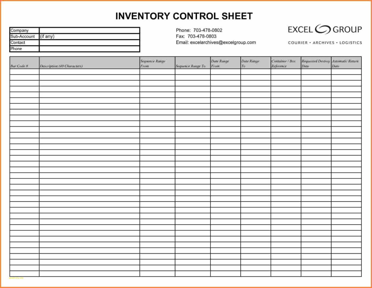 Food Cost Inventory Spreadsheet   Awal Mula For Free Bar Inventory Sheets