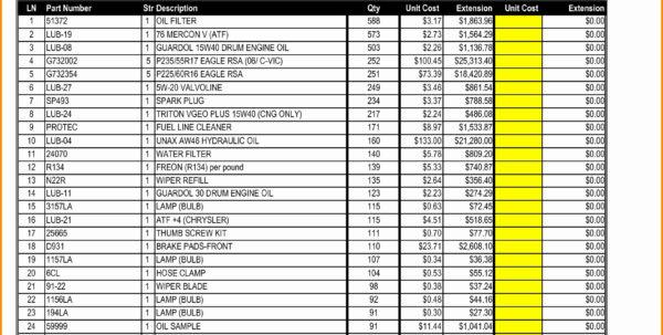 Food Storage Inventory Spreadsheet Fresh Food Storage Inventory To Food Inventory Spreadsheet