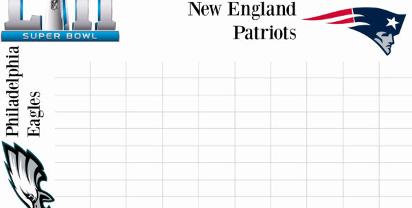 Football Squares Template Excel Weekly Football Pool Excel To Weekly Football Pool Spreadsheet
