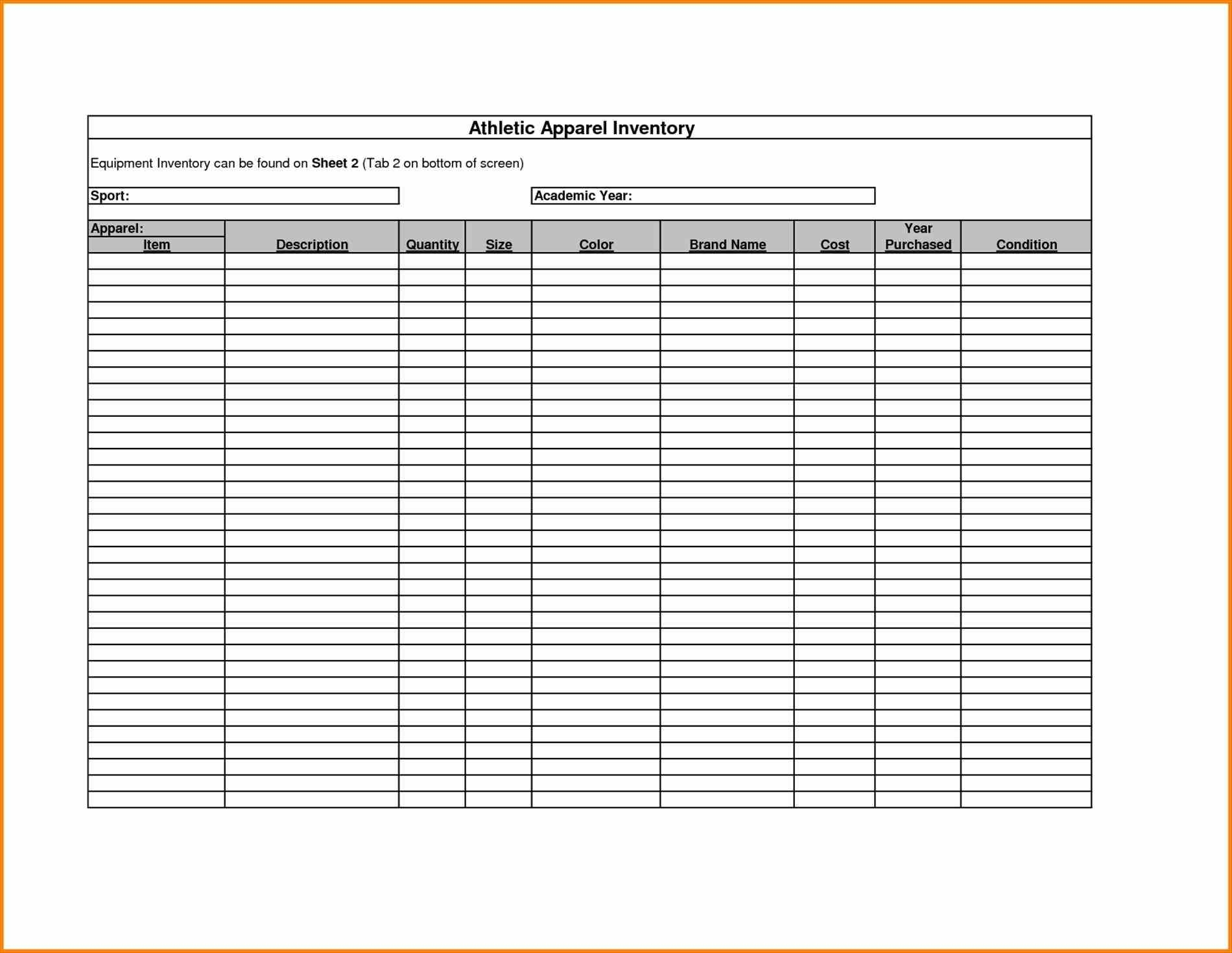 Form Template Excel Inventory Tracking Spreadsheet Templates For With Inventory Tracking Form