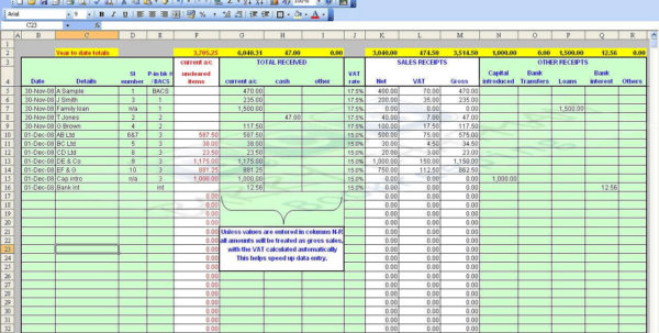 Free Accounting Spreadsheet For Small Business 2018 Spreadsheet Intended For Business Accounting Spreadsheet