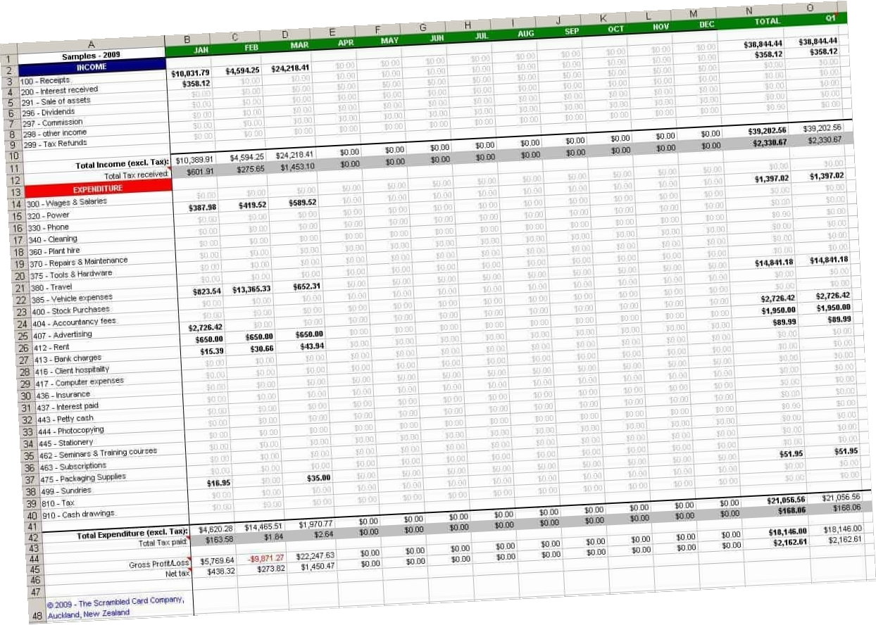 Free Accounting Spreadsheet Templates For Small Business O9Ch Free Within Accounting Spreadsheet Templates Free