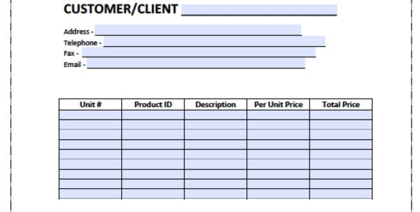 Free Billing Invoice Template | Excel | Pdf | Word (.doc) Within Invoice Template Word Doc