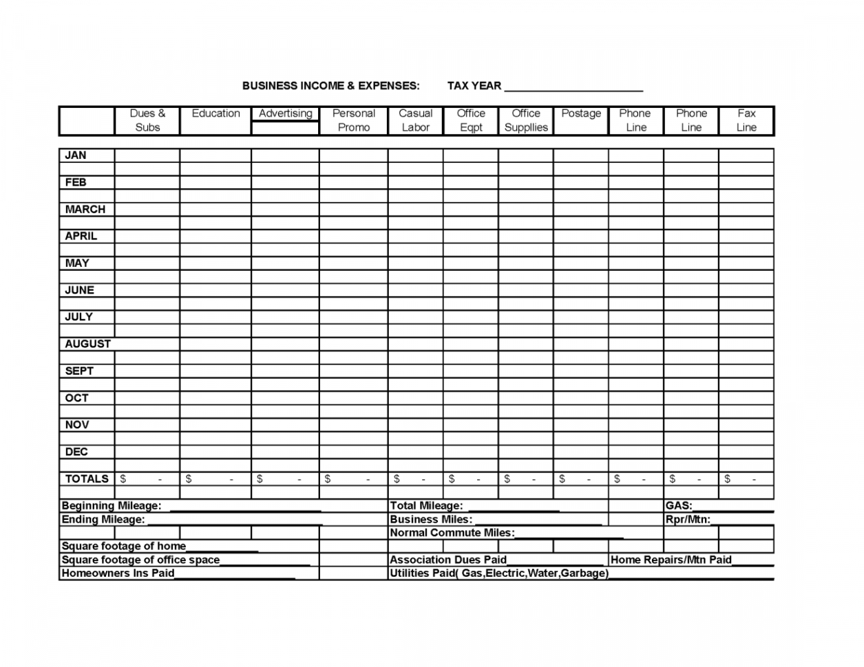 Free Business Expense Spreadsheet   Theminecraftserver   Best To Free Monthly Expense Spreadsheet