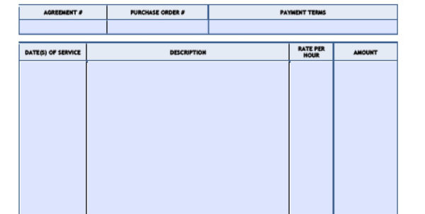Free Consulting Invoice Template | Excel | Pdf | Word (.doc) To Consulting Invoice