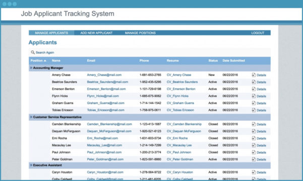 Free Download Recruitment Tracking Spreadsheet Tracking Spreadshee For Applicant Tracking Spreadsheet Download Free