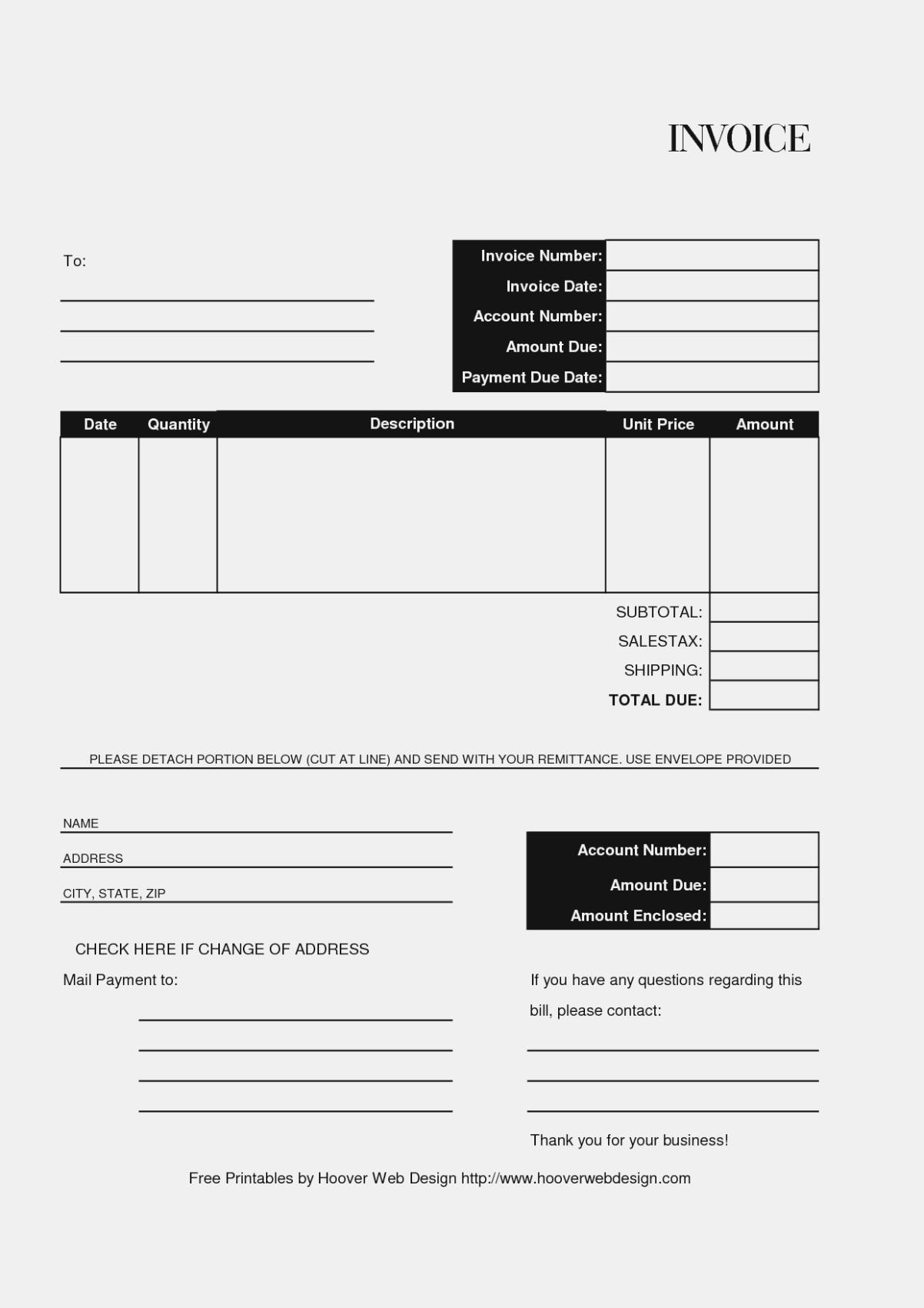 Free Editable And Printable Billing Invoice Template Sample With And Billing Invoice Sample