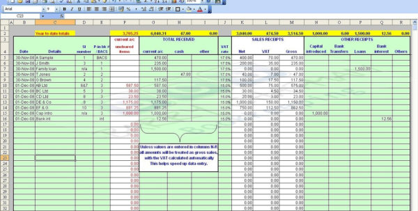 Free Excel Accounting Templates Small Business | Nbd Intended For Within Accounting Format For Small Business