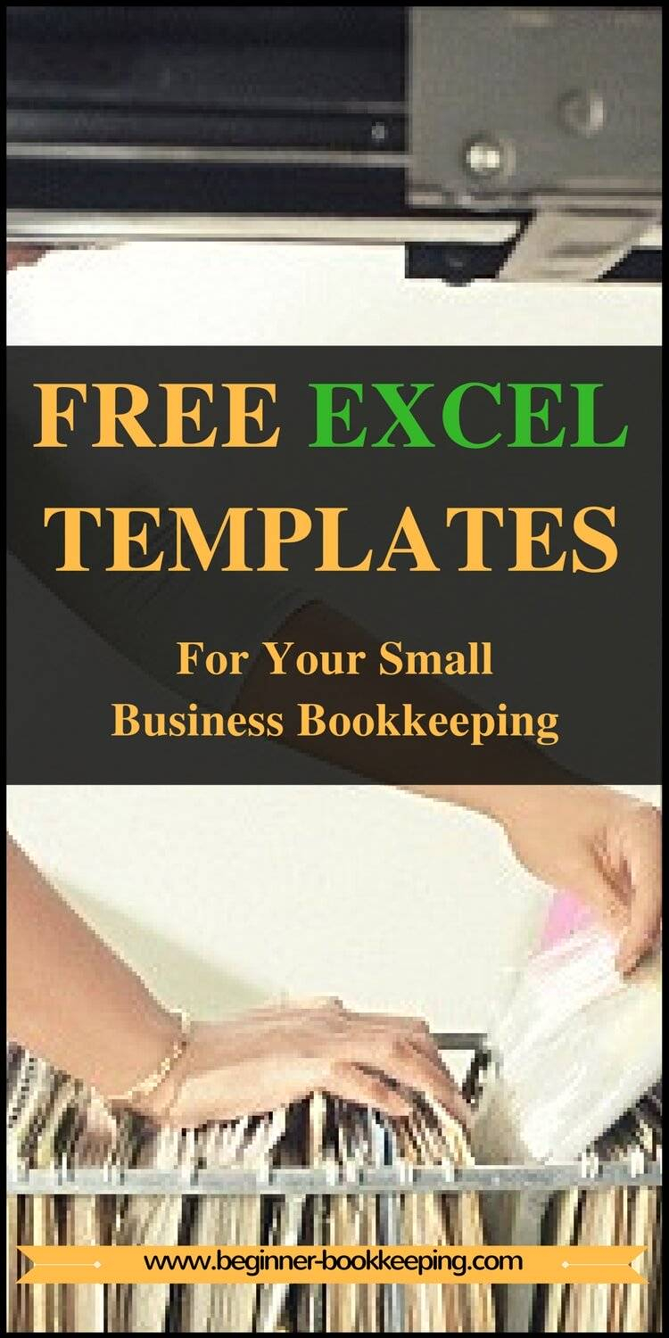 Free Excel Bookkeeping Templates Intended For Free Accounting Template For Small Business