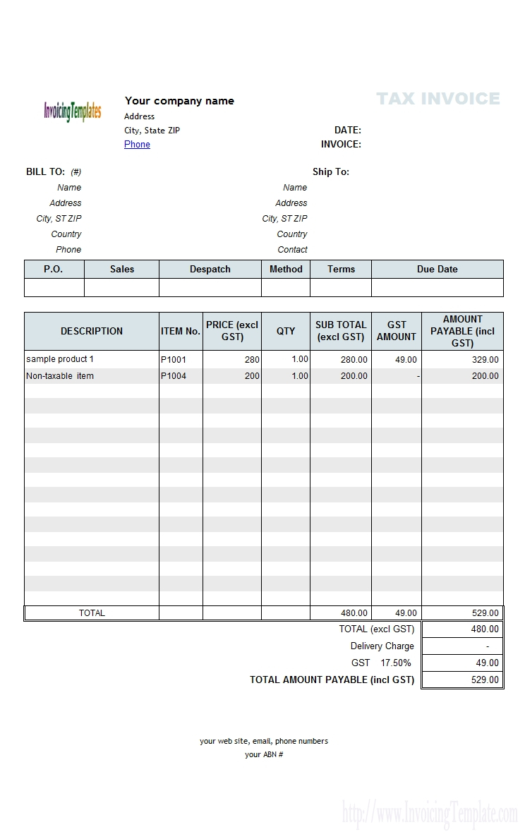 Free Excel Quote Template Excel Free Invoice Template Download To Invoice Template Excel Free Download