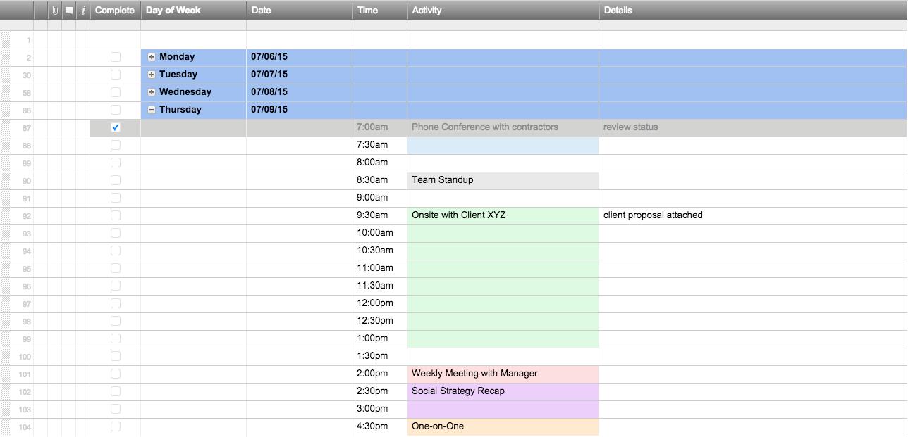 Free Excel Schedule Templates For Schedule Makers In Employee Schedule Spreadsheet
