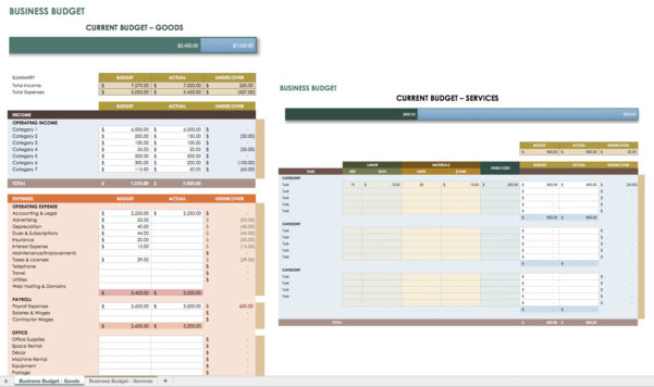 Free Financial Planning Templates | Smartsheet To Financial Plan Template Free